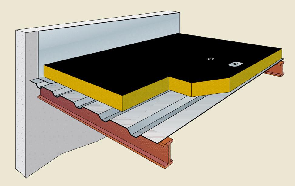 Panel cubierta isover ixxo paneles ach for Panel de cubierta tipo sandwich
