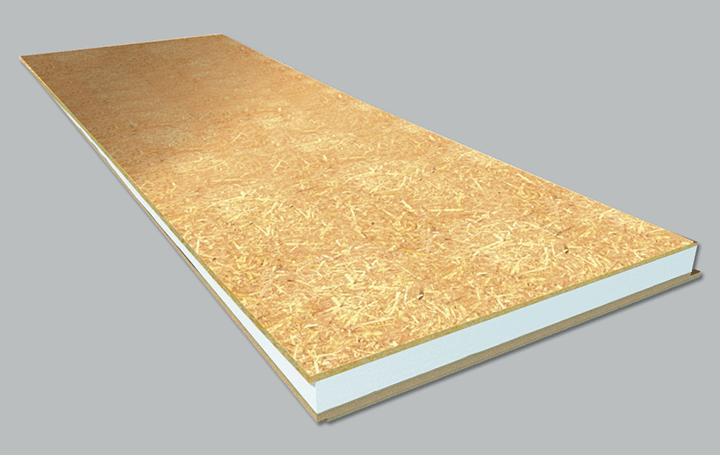 Panel s ndwich madera madera osb poliestireno - Panel sandwich de madera ...