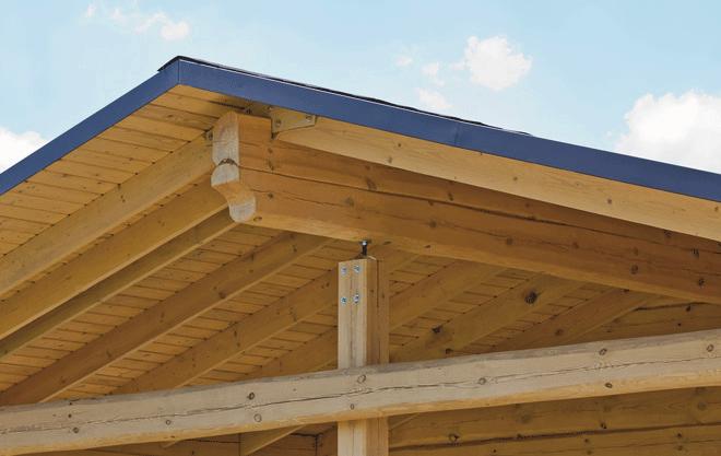 Calidez, calidad y aislamiento. Así son los paneles sándwich de madera