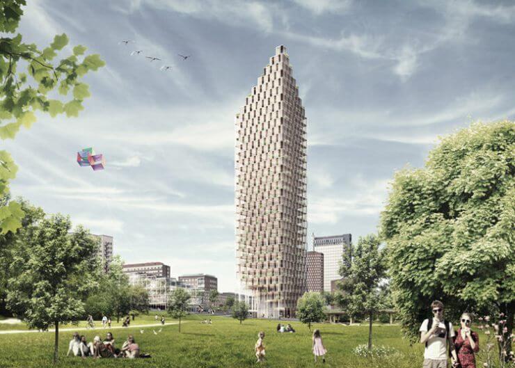 Nuevas tendencias arquitectónicas que dominarán el 2017 rascacielos de madera