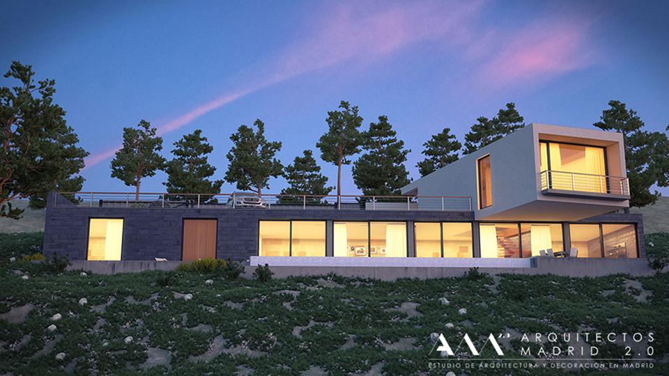 Proyecto de vivienda unifamiliar / Arquitectos Madrid 2.0