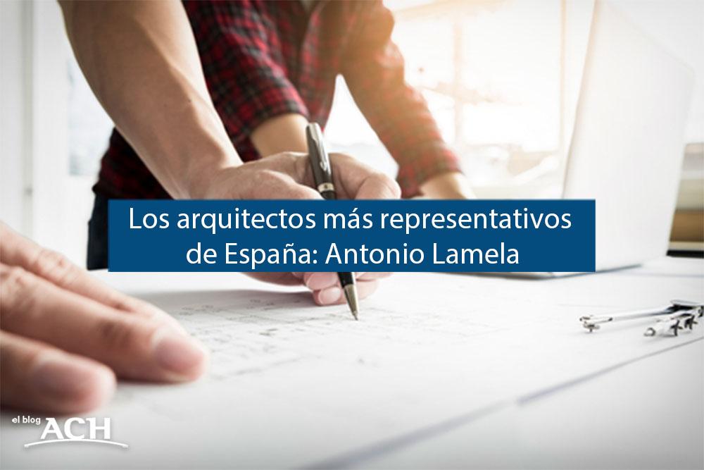Arquitectos importantes en España
