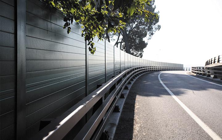 barreras contra la contaminación acústica