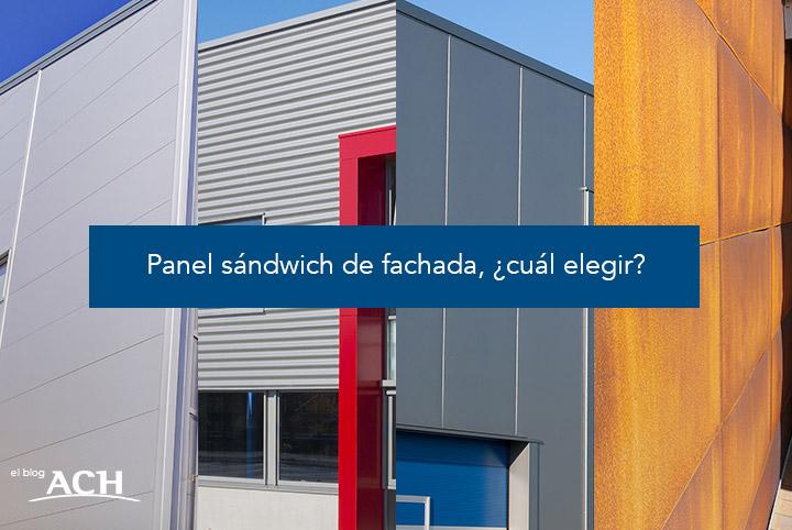 panel sándwich de fachada