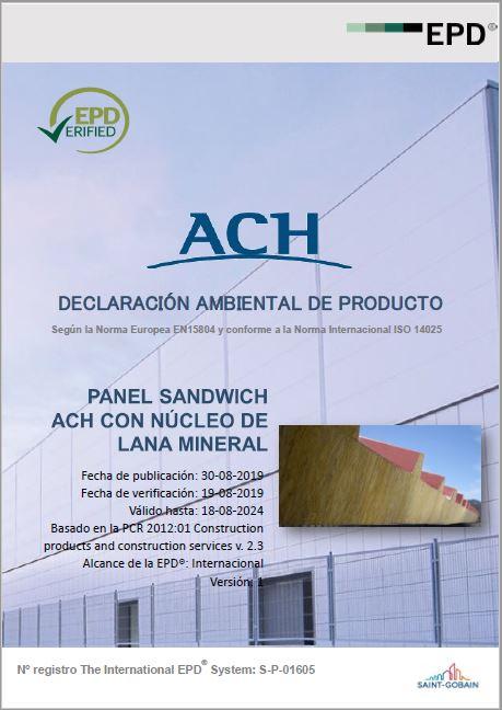 declaraciones ambientales de producto ach