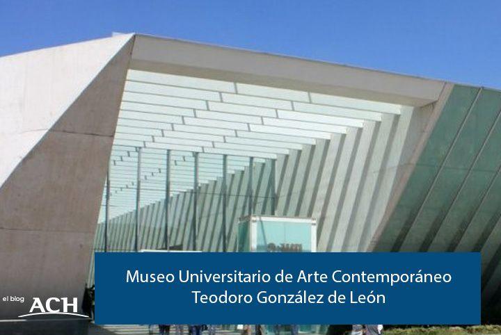 El MUAC (Museo Universitario de Arte Contemporáneo), de Teodoro González de León,