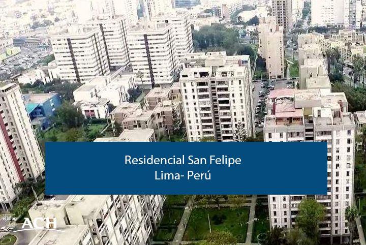 Residencial San Felipe en Lima, Perú